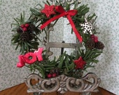 Barbie Christmas Wreath