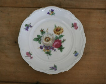 vintage amzo dessert plates mariechen pattern made in germany