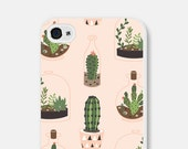 Tech Gifts Cactus iPhone 6 Case Samsung Galaxy S6 Case iPhone 6s Case Cactus Phone Case Cactus iPhone Case iPhone 5 Case iPhone 5c Case CCo