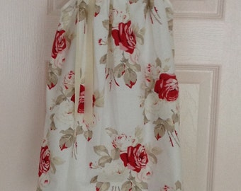 Cream Cottage Rose Dress by Cheryl's Bowtique / 2015 Cottage Collection
