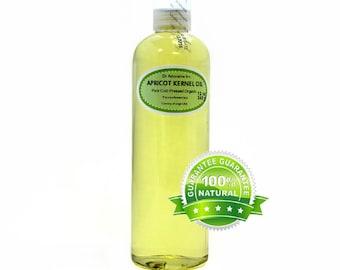 12 OZ Apricot Kernel Oil 100% Pure Organic Cold Pressed