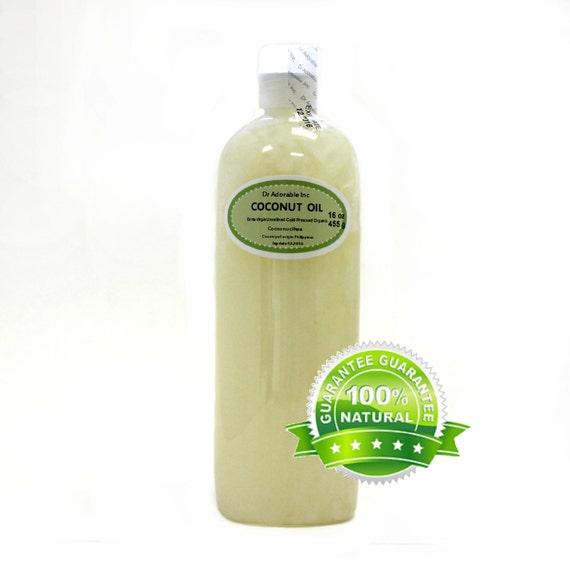 16 OZ Extra Virgin Unrefined 100% Pure Coconut Oil Organic