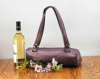 Wine Tote, Wine Carrier, Bottle Bag, Insulated Tote, BYOB Bag, Insulated lunch tote, Insulated picnic tote, Bridesmaids Gift