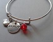 Inspire Teacher Bangle Bracelet