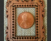 MINI Size Mini Masterpiece Frame DIY Pendant *Red Cedar Wood*