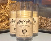 Dragons Blood Solid Lotion or Perfume Stick 1oz Tube sandalwood, amber, and musk
