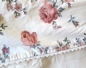Twin Sheet Set, Fitted, Flat, Pillowcase by Dan River, Floral