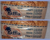 Natural Raffia Crafters Florists Hat Makers Millinery