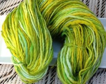 Hand Painted Uruguayan Fresh Greens 100G Yarn ML 16