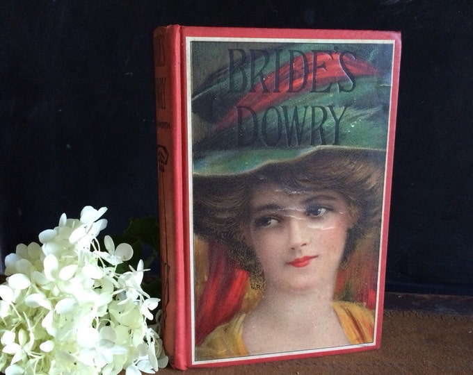 Bride's Dowry Antique Picture Cover Edwardian Book