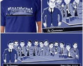 Suited Caricature T-Shirt or Tank (Groomsmen Gift)