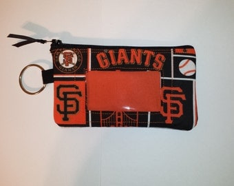 San Francisco GIANTS  Zip ID pouch