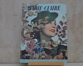 1930s  Fashion Magazine for Inspiration, Collections, Collage, Scrapbooking, Decoupage-Marie Claire October 7 1938