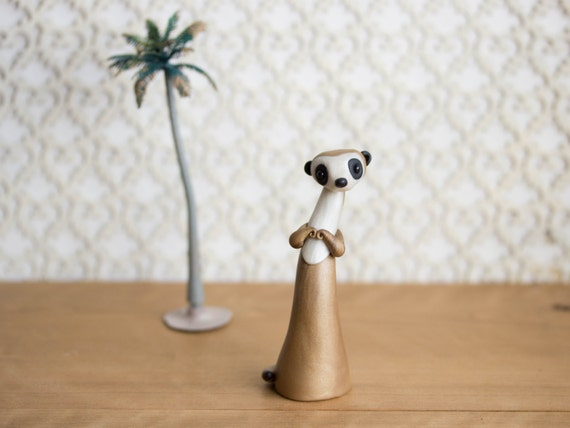 Meerkat Figurine by Bonjour Poupette