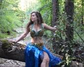 Belly dance costume Lagoon