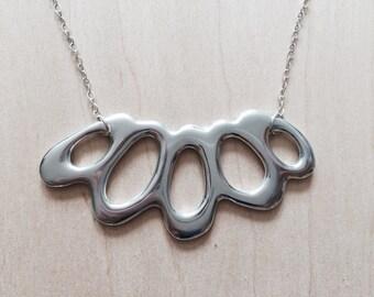Organic Aluminum Necklace