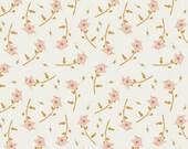 Girls Crib Bedding - Peach Pink Crib Sheets or Changing Pad Covers / Fitted Crib Sheet / Floral Nursery Bedding /Mini Crib Sheets