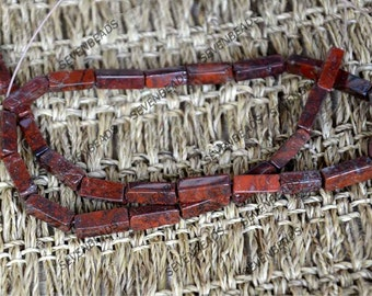 4X13MM Redstone  stone beads, Gemstone Chain Beads,Redstone nugget stone beads loose strands