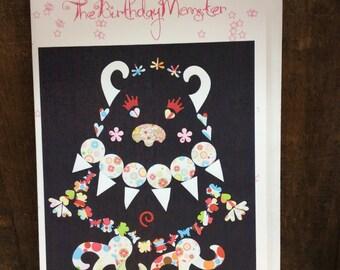 Birthday Card Monster