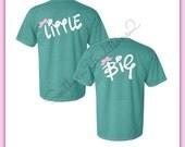 Sorority T Shirt - Big Little T shirt - Little Big GBig GGBig Reveal Tee - Rush Week Sorority tshirt