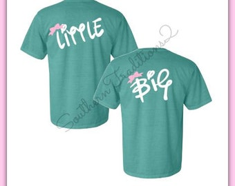 Sorority T Shirt - Big Little T shirt - Little Big GBig GGBig Reveal Tee - Rush Week Sorority tshirt