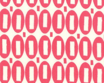 American Jane Pezzy Print hot pink moda fabrics FQ or more