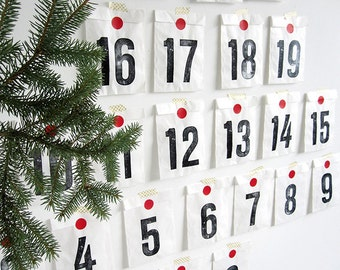 Advent Calendar kit 25 days by renna deluxe