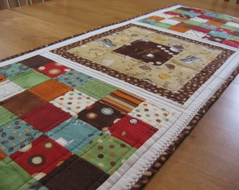Quilted Java Table Runner