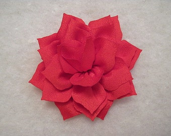 3 Inch Lotus Flower Red