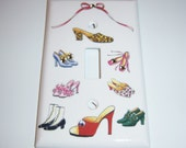 Shoes, Shoes and More Shoes Single Lightswitch Cover