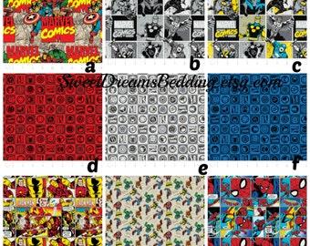 Custom Crib Bedding You Design   in  Marvel 2