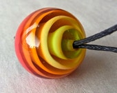 Mesmerized - Handmade Lampwork Bead by Anne Schelling, SRA