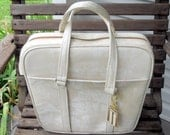 Retro Vintage Samsonite Luggage Carry On Tote Bag