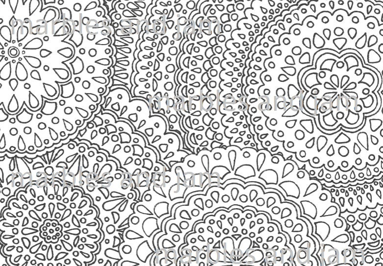 full page mandala coloring pages - photo #4