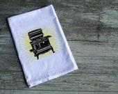 SALE! The Brilliant Stove flour sack towel