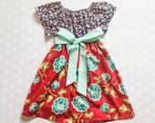 Girl's Dress - Girls Dresses - Girls Dress - Girls Summer Dresses - Girls Fall Dress - Baby Girl Dress - Baby Girl Dresses