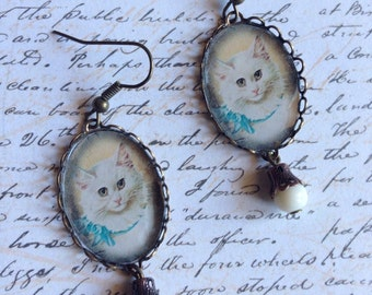 Miss Kitty - earrings