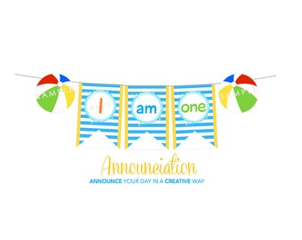 Pool Party I AM ONE Banner
