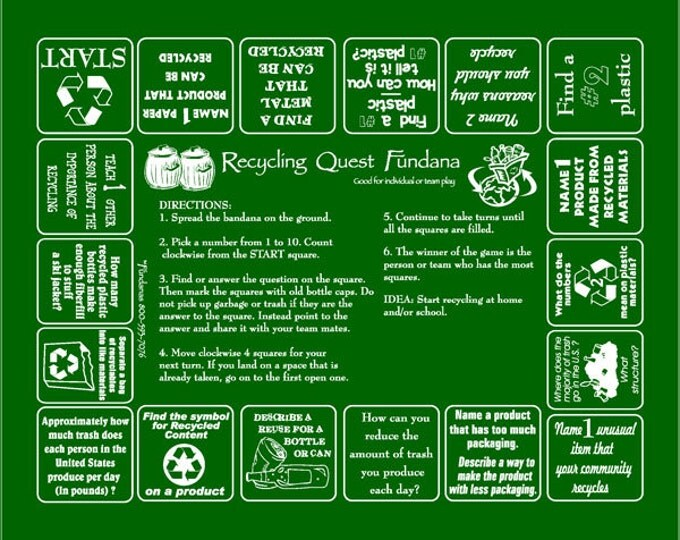Recycling Quest Fundana. Learn all about recycling with our fun game!
