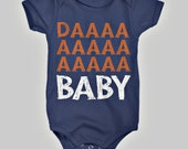 Chicago Bears Baby Onesie Infant Shoulder Creeper Daa Baby