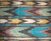 Ikat, Native Print fabric/ Aztec Fabric per Half yard for Quilting /Home Decor/ crafting/ Pillow accents and more