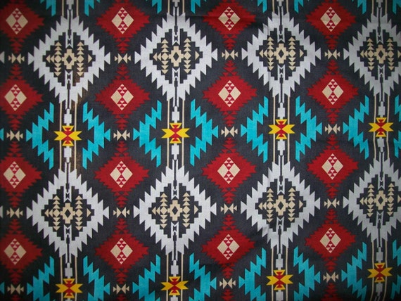 Tribal Upholstery Fabric by the Yard for Home Decor