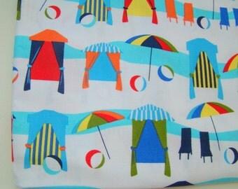 Beach Cabana Fabric, Michael Miller Resort Cabana, OOP Fabric