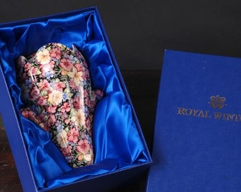Royal Winton, Florence, Limited Edition Wall Pocket in Original Box