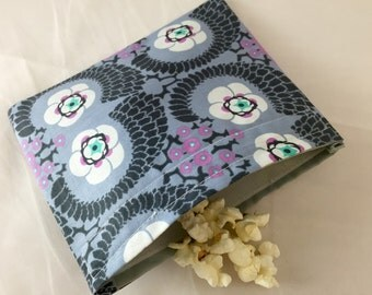 Reusable Snack Bag - Amy Butler Violette  - Ready To Ship