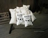 Cow feedsack - dollhouse miniature