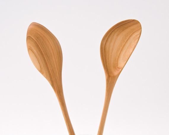 Hand Carved Wooden Spoon Wooden Kitchen Utensils Eco