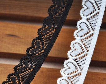 White Embroidery Lace Trim Lace Cotton Embroidery  5 Yard 1.8cm Wide