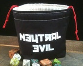 Neutral Evil Dice Bag
