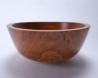 Wild Black Cherry Wooden Salad Bowl 1391
